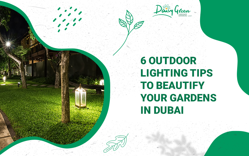 garden lighting Dubai